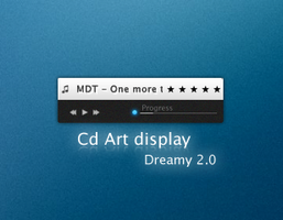 CD Art Display for dreamy 2.0 by Hard-Destiny