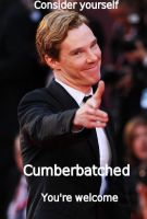 Cumberbatched by ThePaintedLady143
