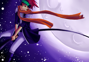 d.gray-man: lavi in the sky by imelmadman