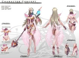 Concept :Elven Female Magician by reaper78