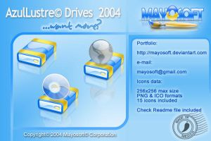 AzulLustre Drives by Mayosoft