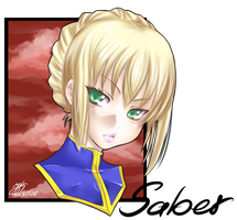 Saber by xMeicox
