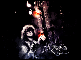 Jimmy Page LP by YoungLinkGFX