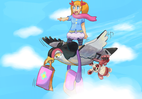 Who Needs Planes, we got Fly!! by MizterSiah