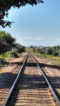 Summer Afternoon on Tracks by WildHeart1125