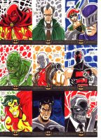 Batman: The Legend Sketch Cards 5 by OptimusPraino