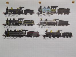 JGR Locomotives (colored) 4 by drawing425