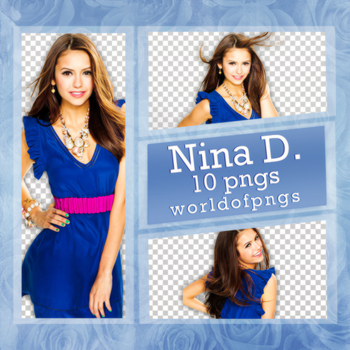 Pack png 159 - Nina Dobrev by worldofpngs