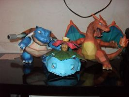 pokemon papercraft by MichelCFK