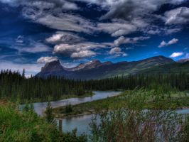Bow River :tone mapped: by 5tring3r