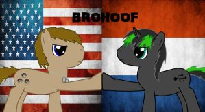 Brohoof- Neutralbrony and Malicious Badger by Neutralbrony