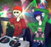 WE ARE HERE TO PARTY by ceribeaus
