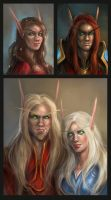 Blood Elves 2 by artastrophe