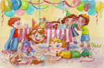 Birthday party by Sabinerich