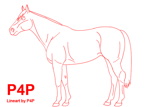 Lineart 1- The Thoroughbreed by Power4Petlove