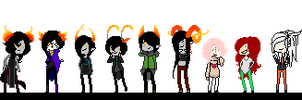 PixelStuck by FoolishAntiqueRabbit