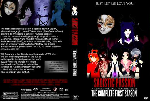 Sadistic Passion Season One DVD Cover by SPChannel