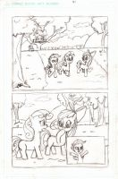 MLP - CMC and Gear Loose Page 1 Pencils by Cartoon-Eric