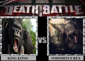 King Kong Vs. Indomunus Rex by Hybrid55555