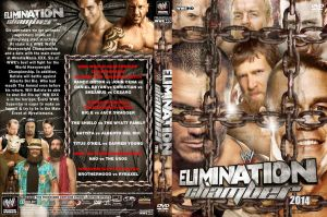 WWE Elimination Chamber 2014 DVD Cover V1 by Chirantha