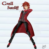 Grell Sutcliff by Ammelira