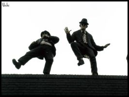 Blues Brothers by Uchiland