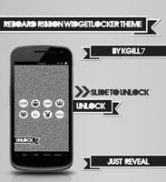 Reboard Ribbon WidgetLocker Theme by kgill77