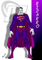 DC Comic's Bizarro by skywarp-2