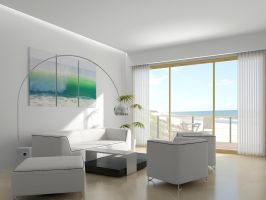beach house interior by outboxdesign