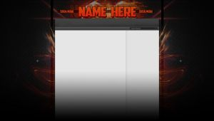 YouTube Partner Layout | Template 1 | by Stubbsy117