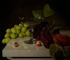 Still life WIP by yazjack