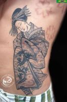 geisha by DallierTattoo