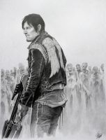 Daryl Dixon by spidershag