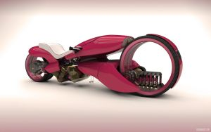 Honda concept 2029 - pink by abmart