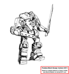 White Knight Assault Mech by Excalibur-T005