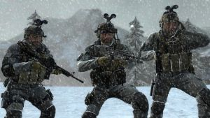 Snow storm, Afghansitan, 2002 by Kommandant4298