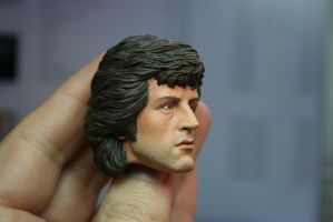 repainted Hot Toys Rambo - 1 by DarrenCarnall