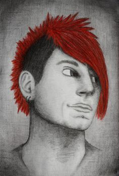 Portrait of Klayton by Riami96