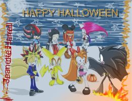 SonicTeam Halloween by QTStartheHedgehog