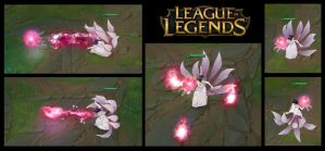 Wedding Gown Ahri Skill by LengYou