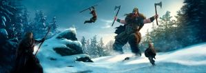 Yggdrasill, Gamemaster screen by MarcSimonetti