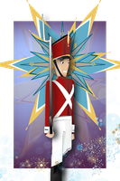 Steadfast Tin Soldier by LadyLaffAlot
