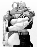 Cammy X Nash: Through thick... and thin. by El-Rockero