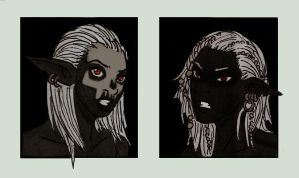 Neroz Dark Elves by Shabazik