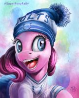 SuperBowl Pony_Pinkie by Tsitra360