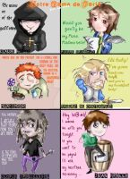 Notre Dame pick-up lines by ooNerina