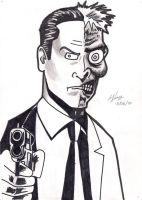 Harvey Two Face by dark-biscuit