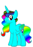 (requested)  BlueRainbow Sparkle by kuren247