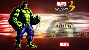 Marvel VS Capcom 3 Hulk by CrossDominatriX5