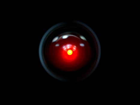 Hal 9000 by JohnnySlowhand